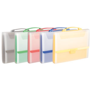 A4 Expanding filing case