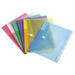 Color Collection A4 Perforated Envelopes - assorted - a4 - 12-2 - pp