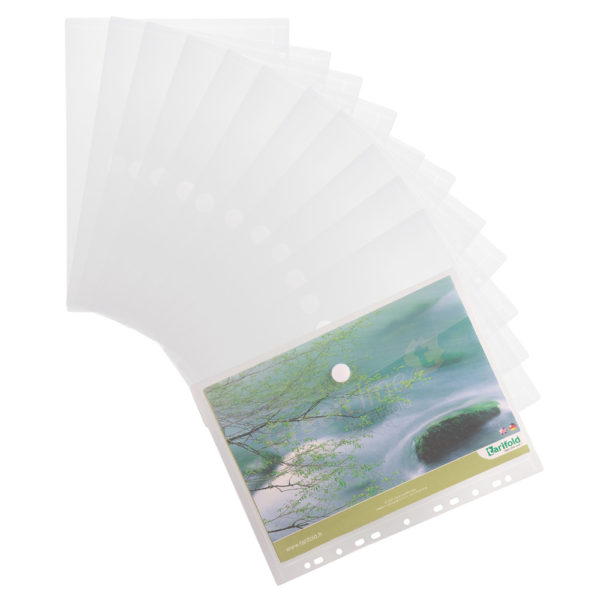 A4 perforated Envelopes Color collection clear