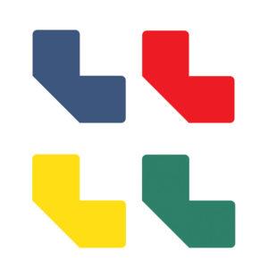 Floor Marking L-symbols assorted