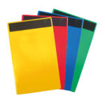 Identification Pockets - yellow - a4 - 10 - france