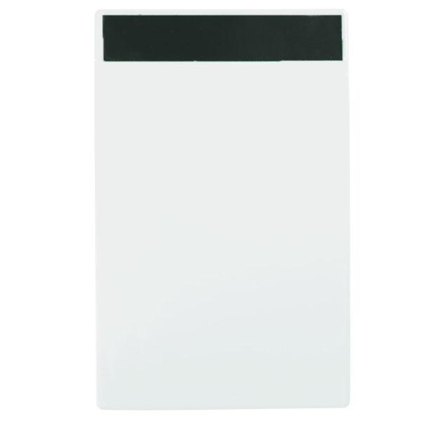 Identification pockets white