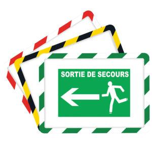 Pochettes cadres d'affichage sécurité magnétique