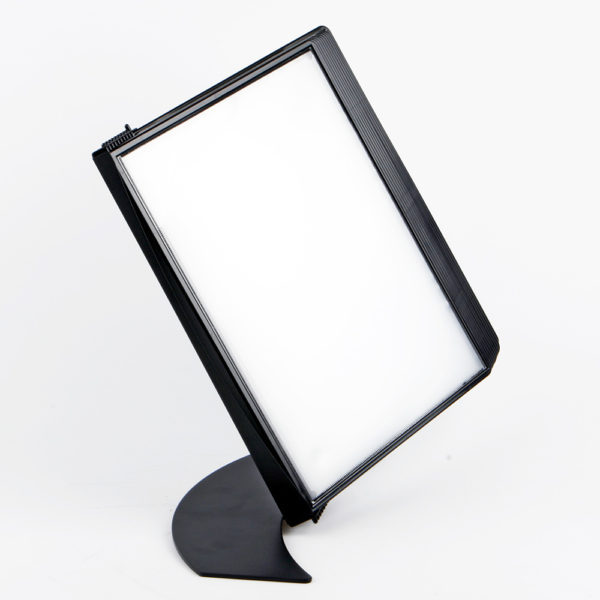 Tarifold Easy Load black display system