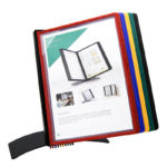 Tarifold Easy-Load Desk Display Unit, Assorted Colors - assorted-blue-red-yellow-green-black - us-us - 10-us - denmark-us