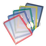 Pivoting Pockets for Wall, Desk or Rotary Systems - assorted-blue-red-yellow-green-black - us-us - 10-us - france-us