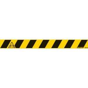 Sicherheitsbodenlinie - 2m sozialen Abstand einhalten