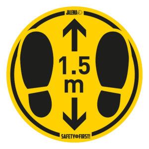 Tarifold Floor stickers foot steps 1-5m Tarifold 7999807