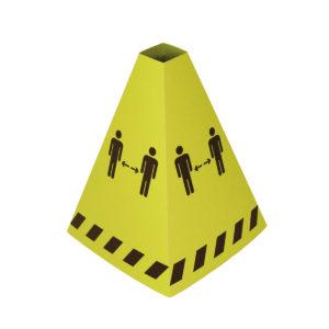 Cardboard Distancing Cone 7999833