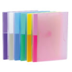 Color Collection A4 Document Wallets - assorted - a4 - 6 - pp
