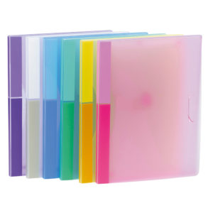 A4 document wallets Color collection