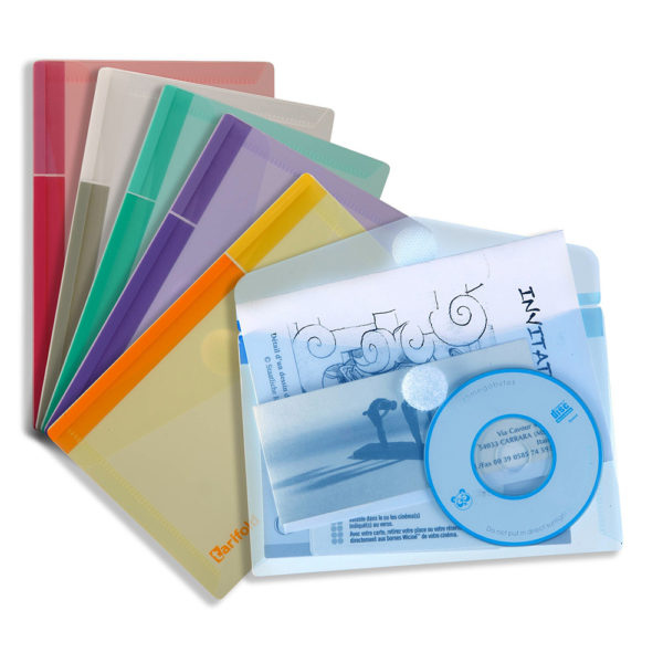 A6 Envelopes horizontal Color collection assorted