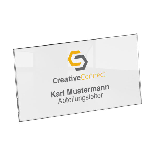 Conference S Name Badge
