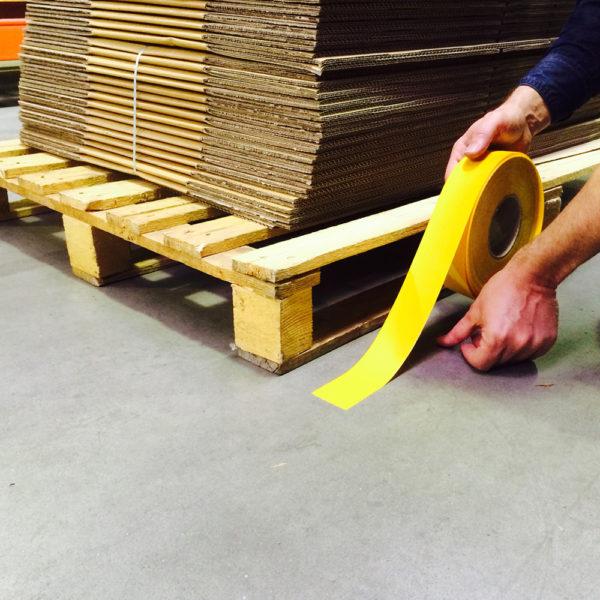 Expert Floor marking tape rolls yellow
