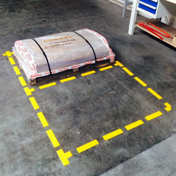Floor Marking L-symbols