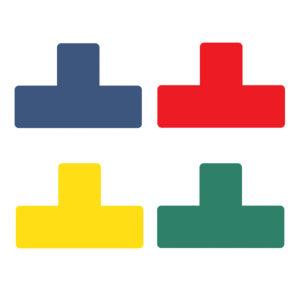 Floor Marking T-symbols assorted