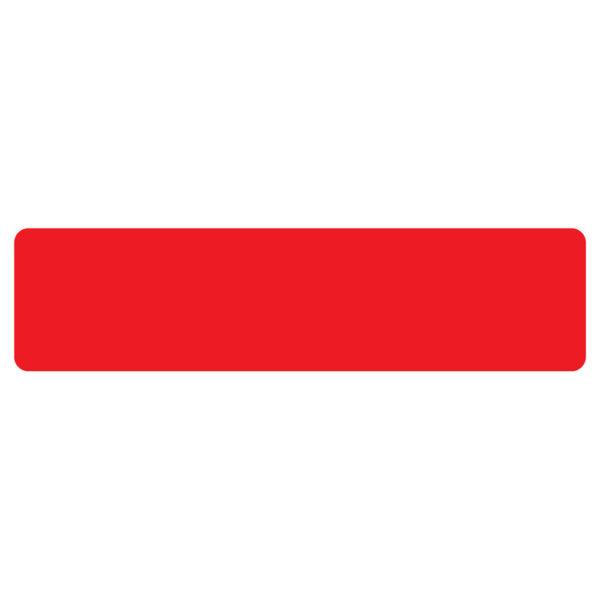 Floor Marking stripe symbols red