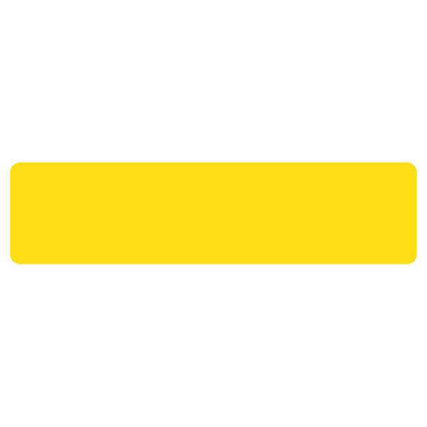 Floor Marking stripe symbols yellow