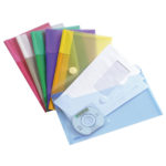 Color Collection Cheque book Envelopes, M65 - assorted - m65 - 6 - pp