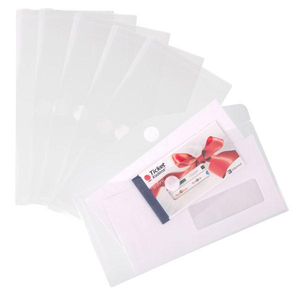 M65 Envelopes clear