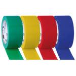 Standard tape rolls - yellow - 33m - 1 - pvc