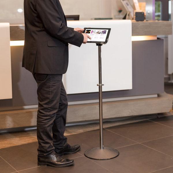 Floor Tablet Holder