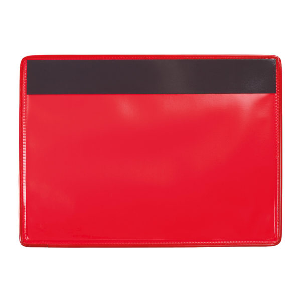 Identification Pockets Reinforced red