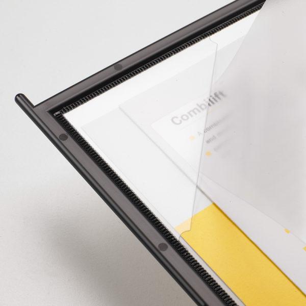 Tarifold Easy Load black display system