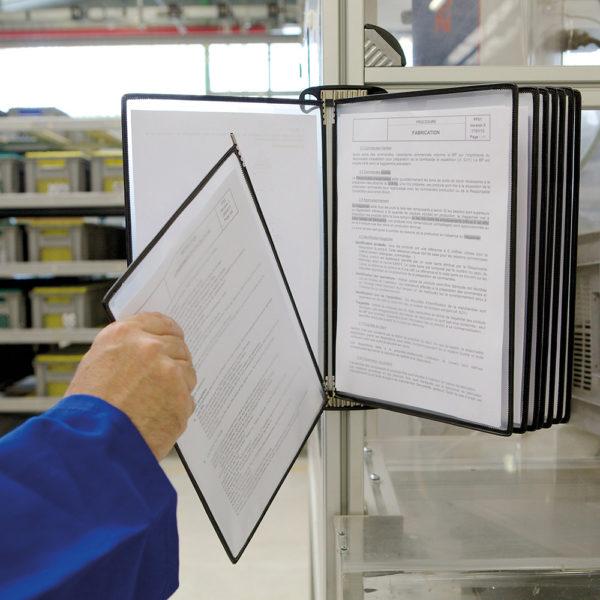 Tarifold PRO Wall Kit Display system
