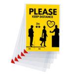Kang Easy Clic Signage Pockets - transparent - a4 - 5 - france