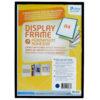 Adhesive Display Frames - Rigid - black - a4 - 1 - france