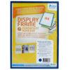 Adhesive Display Frames - Rigid - blue - a5 - 1 - france