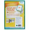 Adhesive Display Frames - Rigid - green - a4 - 1 - france