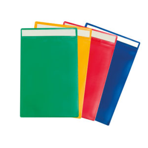 Tarifold Adhesive Identification Pockets