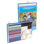 Brochure Holders - blue - a4 - 5 - france