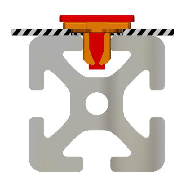 Tarifold T-Clip Mounter