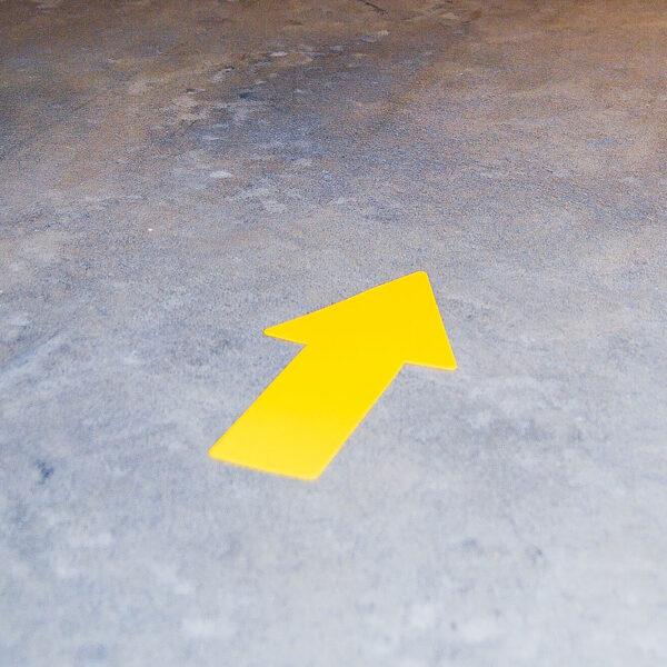 Tarifold Arrow Shape yellow