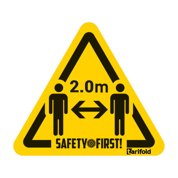 Tarifold Safety floor marking stickers 2 meters appart 197854