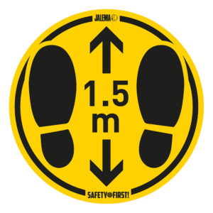 Tarifold Floor stickers foot steps 1-5m Tarifold 7999807