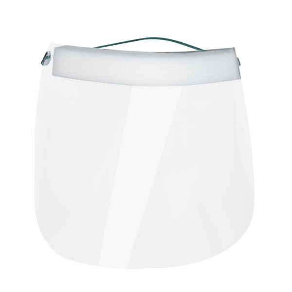 Protective face shield, Comfort Light