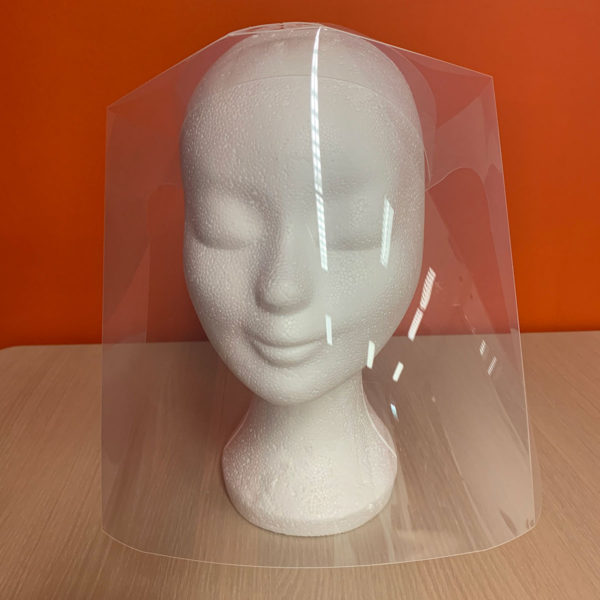 Protective face shield Complete 7999821
