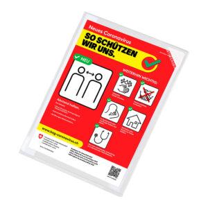 Kang Easy Clic antimicrobial signage pockets Tarifold