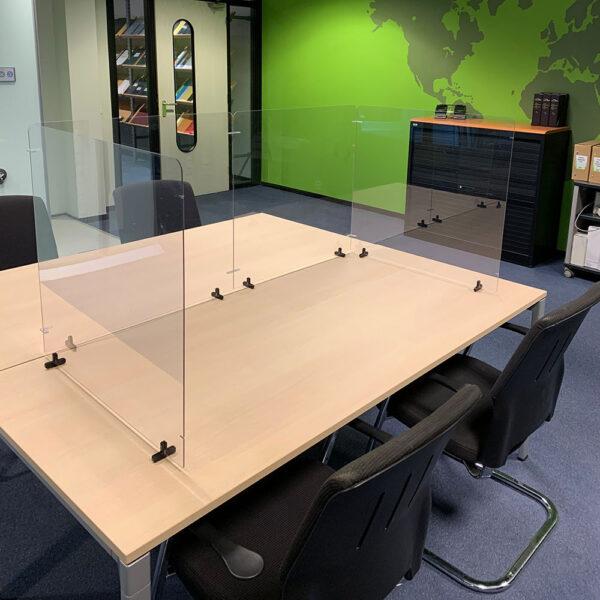 Tarifold Modular desk top transparent protective screens 7999842