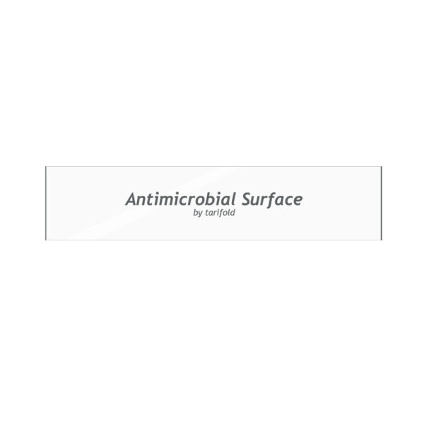 Antimicrobial adhesive door handle stickers by Tarifold
